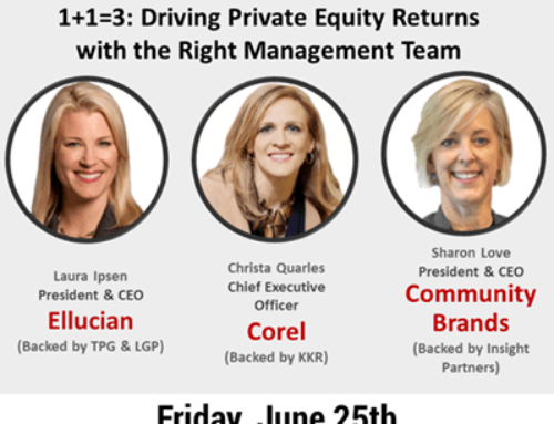 Lancer Group Presents: 1+1=3: Driving Private Equity Returns with the Right Management Team